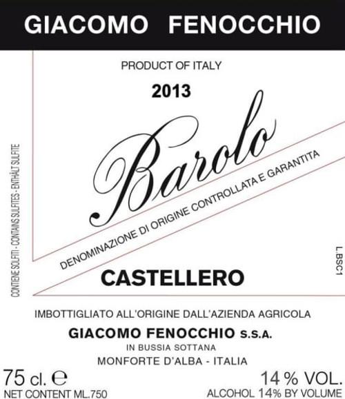Fenocchio/Giacomo Barolo Castellero 2013
