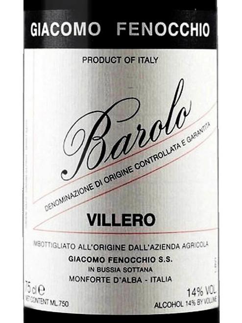 Fenocchio/Giacomo Barolo Villero 2015