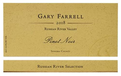 Gary Farrell Pinot Noir RRV Russian River Selection 2018