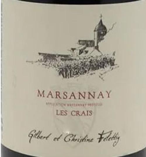 Felettig Marsannay Les Crais 2019 1.5L