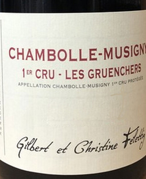 Felettig Chambolle-Musigny 1er cru Gruenchers 2019