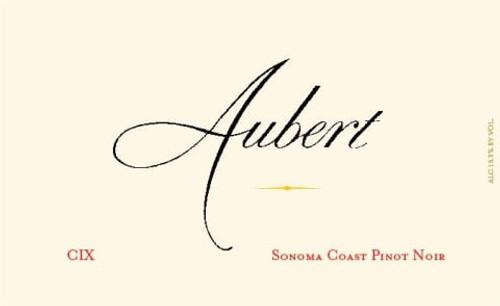 Aubert Pinot Noir Sonoma Coast CIX Vineyard 2011 1.5L