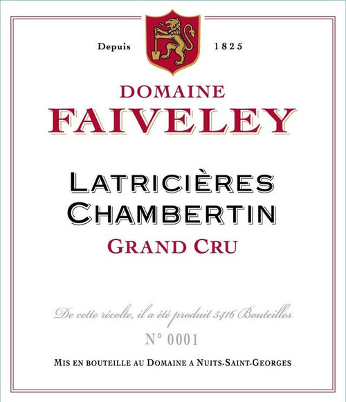 Faiveley Latricières-Chambertin 2014