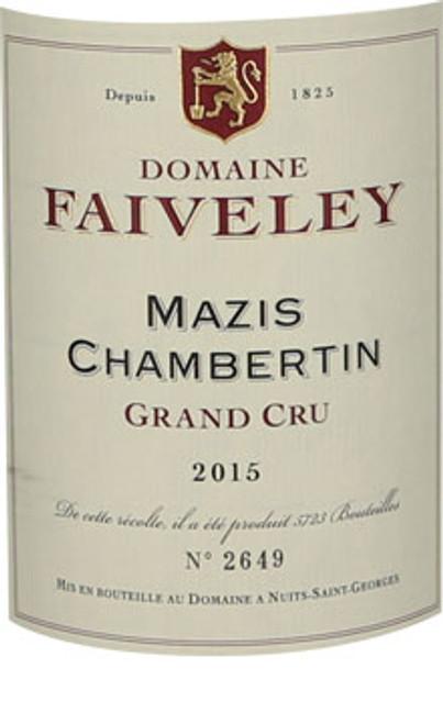 Faiveley Mazis-Chambertin 2015