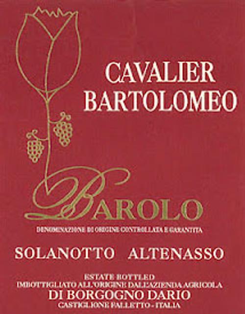 Bartolomeo/Cavalier Barolo Altenasso 2016