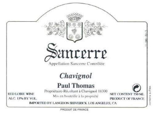 Thomas/Paul Sancerre Chavignol 2020