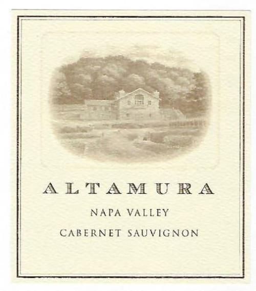 Altamura Cabernet Sauvignon Napa Valley 2016