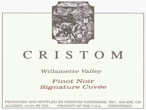 Cristom Pinot Noir Willamette Valley Signature Cuvée 2014