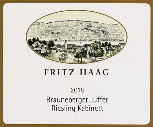 Haag/Fritz Riesling Kabinett Brauneberger Juffer 2020