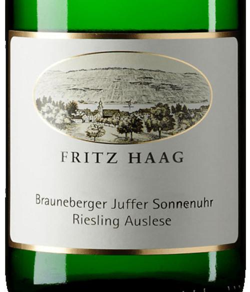 Haag/Fritz Riesling Auslese Brauneberger Juffer Sonnenuhr 2020 375ml