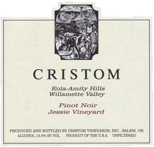 Cristom Pinot Noir Eola-Amity Hills Jessie Vineyard 2018 375ml