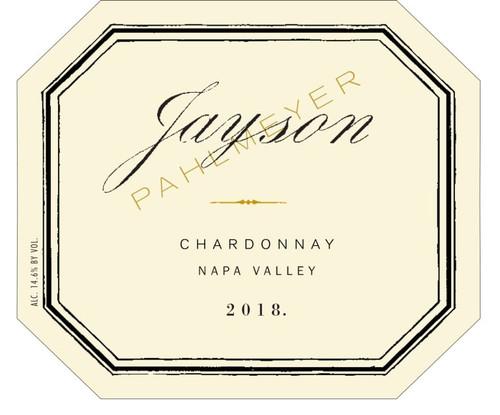 Jayson (Pahlmeyer) Chardonnay Napa Valley 2018