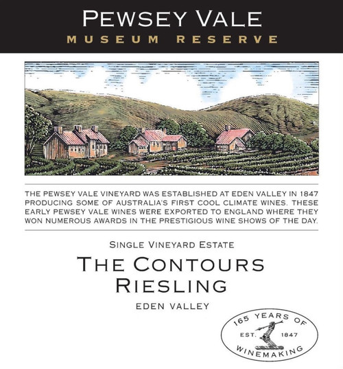 Pewsey Vale Riesling Eden Valley The Contours Museum Reserve 2013