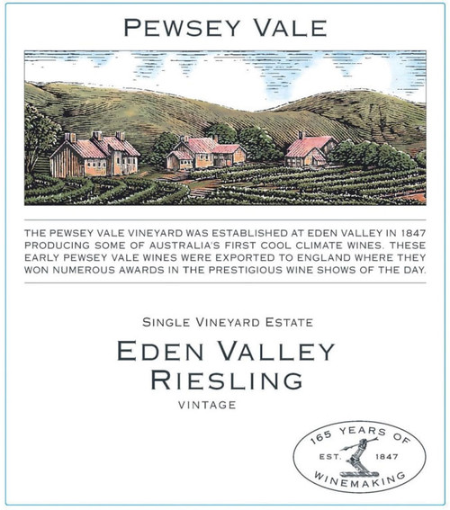 Pewsey Vale Riesling Eden Valley 2020