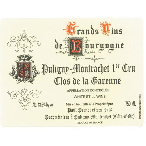 Pernot/Paul Puligny-Montrachet 1er cru Clos de la Garenne 2019