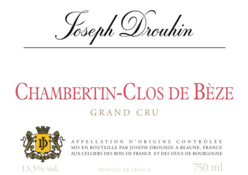 Drouhin/Joseph Chambertin-Clos de Bèze 2019