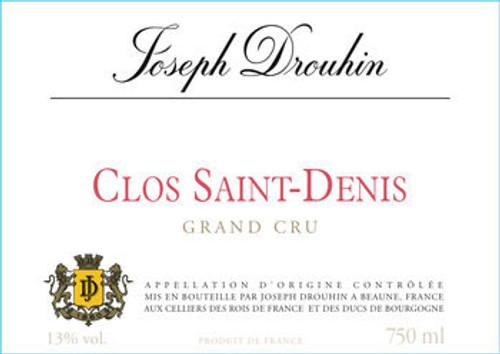 Drouhin/Joseph Clos St-Denis 2019