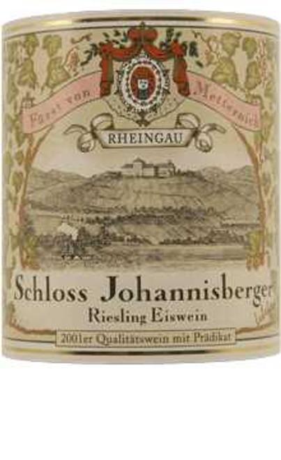 Schloss Johannisberg Riesling Eiswein Rheingau Blaulack 2001