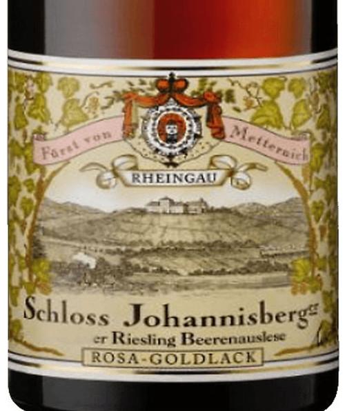 Schloss Johannisberg Riesling Beerenauslese Rosa-Goldlack 2001