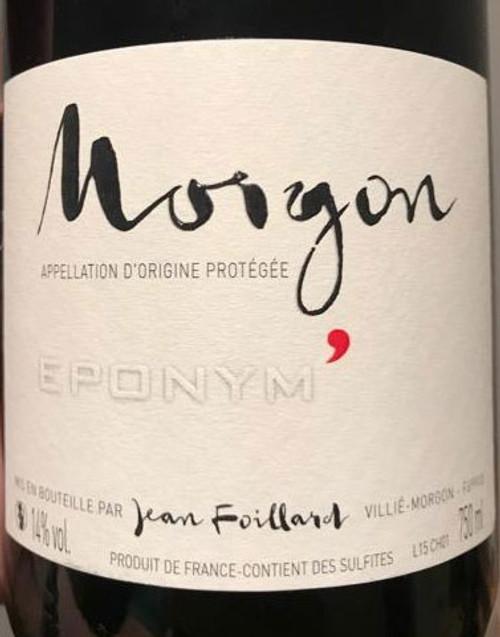 Foillard/Jean Morgon Eponym 2019