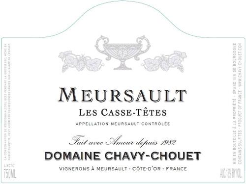 Chavy-Chouet Meursault Les Casse Têtes 2019