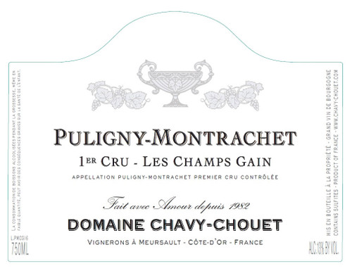 Chavy-Chouet Puligny-Montrachet 1er cru Les Champs-Gain 2019