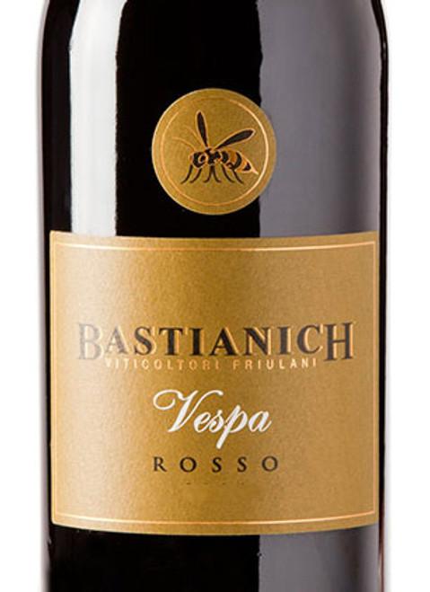 Bastianich Vespa Rosso Venezia Giulia 2015