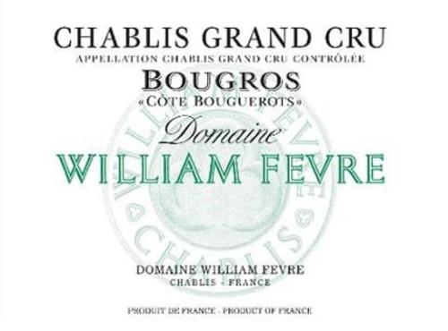 Fèvre Chablis Grand Cru Bougros Côte de Bouguerots 2018 1.5L