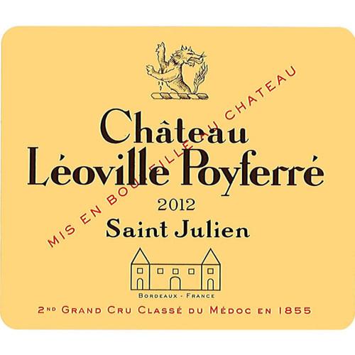 Léoville-Poyferré St-Julien 2012