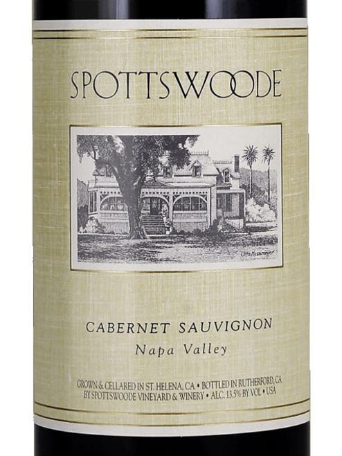 Spottswoode Cabernet Sauvignon Napa Valley Estate 2018 1.5L
