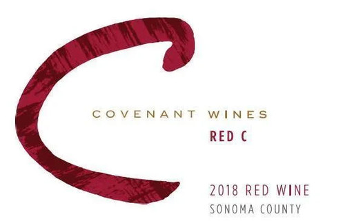 """Covenant Red """"C"""" Sonoma County 2018"""