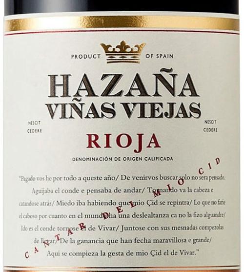 Abanico Rioja Hazaña Viñas Viejas 2017