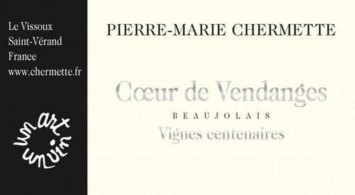 Vissoux Beaujolais Coeur de Vendanges Vignes Centenaires 2020