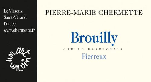 """Vissoux (Chermette) Brouilly """"Pierreux"""" 2020"""