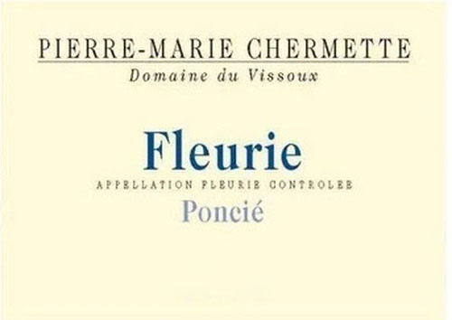 Vissoux (Chermette) Fleurie Poncié 2020 1.5L