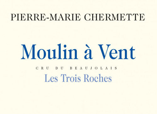 Vissoux (Chermette) Moulin-à-Vent Les Trois Roches 2020 1.5L