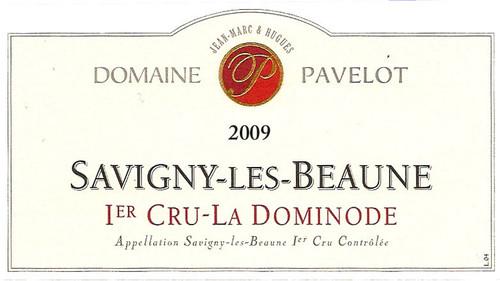 Pavelot Savigny-lès-Beaune 1er cru La Dominode 2009 3L