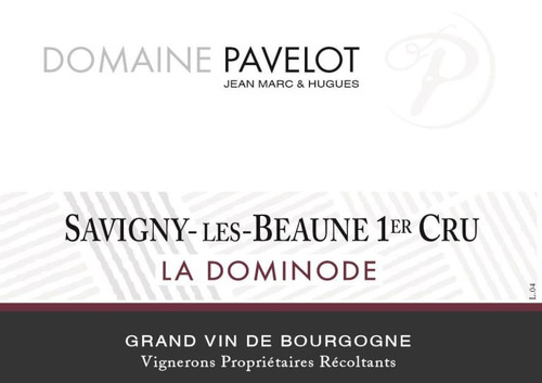 Pavelot Savigny-lès-Beaune 1er cru La Dominode 2016