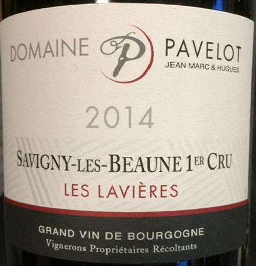 Pavelot Savigny-lès-Beaune 1er cru Lavières 2014