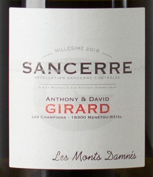 Girard/Anthony & David Sancerre Les Monts Damnés 2019