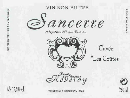 Reverdy/Pascal & Nicolas Sancerre Les Coûtes 2019