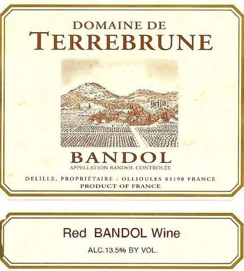 Terrebrune Bandol Rouge 2017