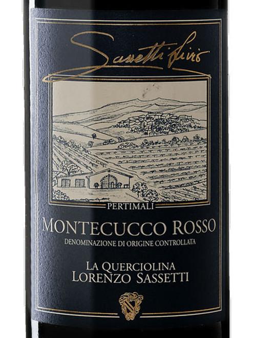 Sassetti (Pertimali) Montecucco Rosso La Querciolina 2017