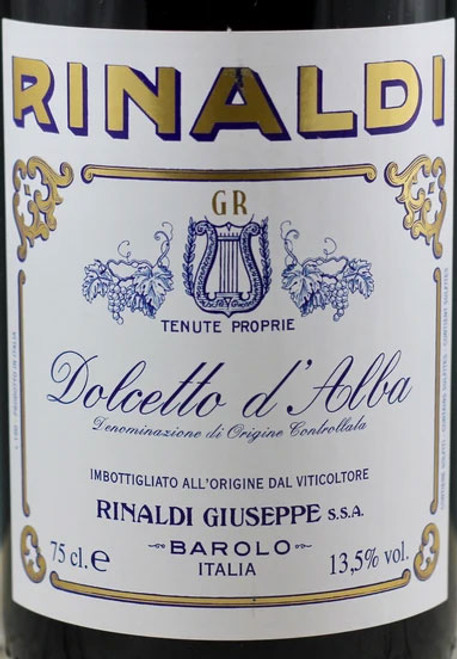 Rinaldi/Giuseppe Dolcetto d'Alba 2019