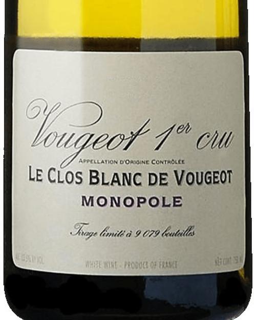 Vougeraie Vougeot 1er cru Le Clos Blanc de Vougeot 2019