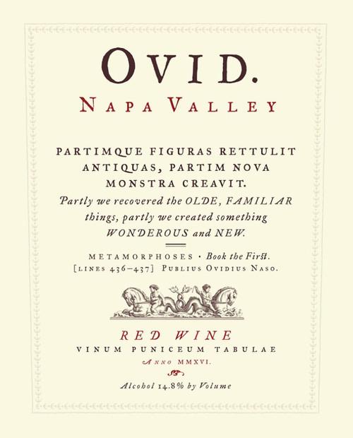 Ovid Propietary Red Napa Valley 2018