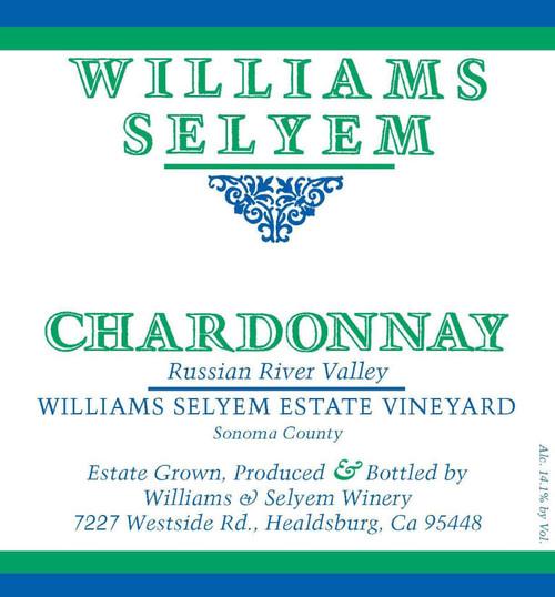 Williams-Selyem Chardonnay Russian River Valley Estate Vyd 2019