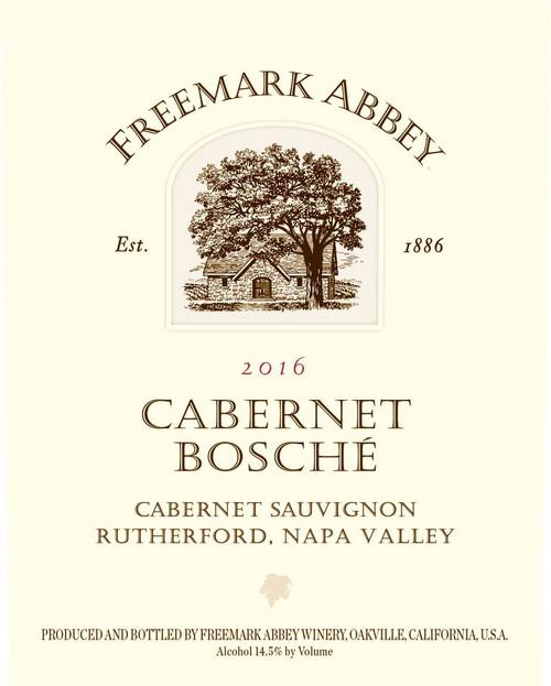 Freemark Abbey Cabernet Sauvignon Napa Valley Bosché Vineyard 2016