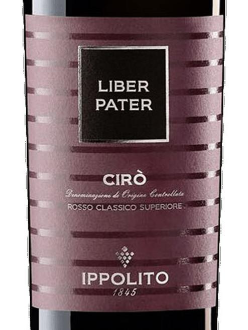 Ippolito 1845 Cirò Rosso Classico Superiore Liber Pater 2019