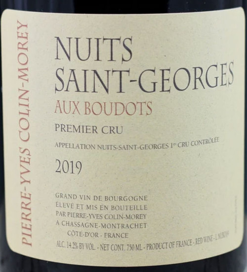 Colin-Morey/Pierre-Yves Nuits-St.-Georges 1er cru Boudots 2019